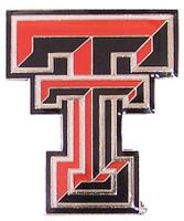 Texas Tech Logo Pin