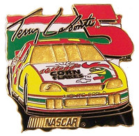 Tony LaBonte #5 Car Pin