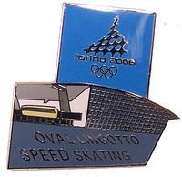 Torino 2006 OlympicsSpeed Skating Arena Pin