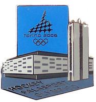 Torino 2006 Olympics Palasport Olimpico Hockey Arena Pin