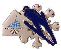 Torino 2006 Olympics Ski Jump Double Pin