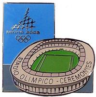 Torino 2006 Olympics Stadium Olimpico Pin
