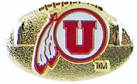 University of Utah 3-D Football Pin