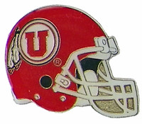 University of Utah Helmet Pin