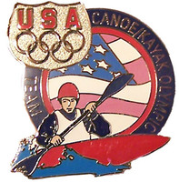 USA Canoe Kayak Olympic Team Pin