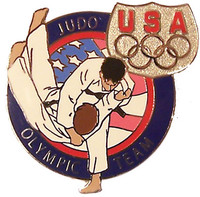 USA Judo Olympic Team Pin