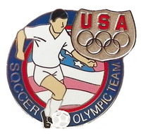USA Olympic Team Athletes Soccer pin