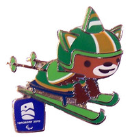 Vancouver 2010 Olympics  Sumi Cross Country Skiing Pin