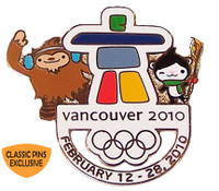 Vancouver 2010 Olympics Ultimate Pin - Limited Edition of 500