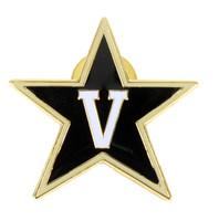 Vanderbilt Logo Pin