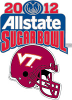 Virginia Tech 2012 Allstate Sugar Bowl Pin