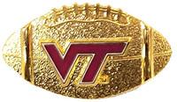 Virginia Tech Football Pin