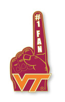 Virginia Tech #1 Fan Pin