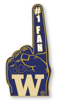 Washington #1 Fan Pin