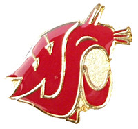 Washington State Logo Pin