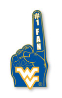 West Virginia #1 Fan Pin