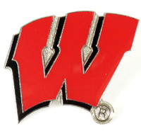 Wisconsin Logo Pin