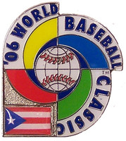 2006 World Baseball Classic Team Puerto Rico Pin