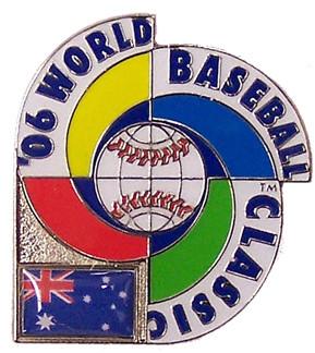2006 World Baseball Classic Team Australia Pin
