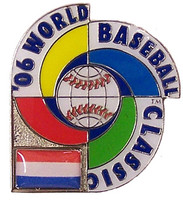 2006 World Baseball Classic Team Netherlands Pin