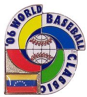 2006 World Baseball Classic Team Venezuela Pin