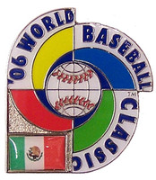 2006 World Baseball Classic Team Mexico Pin