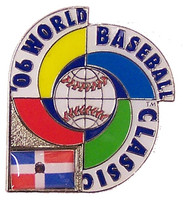 2006 World Baseball Classic Team Dominican Republic Pin