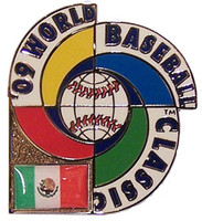 2009 World Baseball Classic Team Mexico Pin
