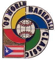 2009 World Baseball Classic Team Puerto Rico Pin