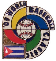 2009 World Baseball Classic Team Cuba Pin