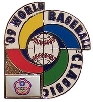 2009 World Baseball Classic Team Taipei Pin