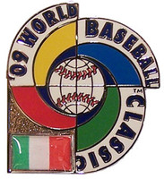 2009 World Baseball Classic Team Italy Pin