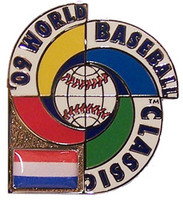 2009 World Baseball Classic Team Netherlands Pin