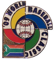 2009 World Baseball Classic Team South Africa Pin