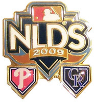 2009 NLDS Phillies vs. Rockies Dueling Pin #1