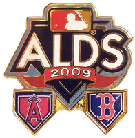 2009 ALDS Angels vs. Red Sox Pin #1