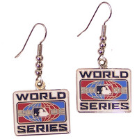 2006 World Series Logo Earrings