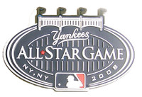 """2008 MLB All-Star Game PVC Magnet - 2.5"""""""