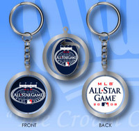 2008 MLB All-Star Game Spinning Key Chain - Double Sided
