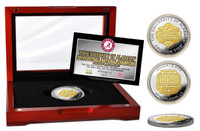 2011 BCS Champions Commemorative Gold Two-Tone Coin