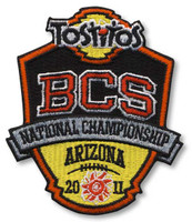 2011 BCS Tostitos National Championship Patch