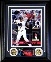 "Alex Rodriguez World Baseball Classic ""USA"" Photo Mint - Limited 500"
