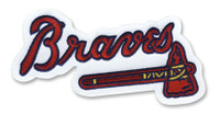 Atlanta Braves Embroidered Emblem Patch