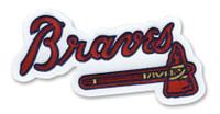 Atlanta Braves Embroidered Emblem Patch