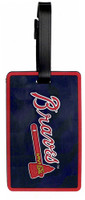 Atlanta Braves Luggage Bag Tag