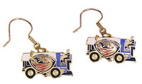 Atlanta Thrashers Earrings