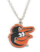 Baltimore Orioles Logo Necklace