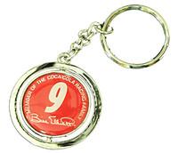Bill Elliott #9 Spinner Key Chain