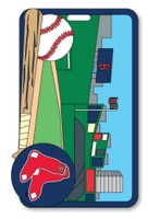 Boston Red Sox Fenway Park Luggage Tag