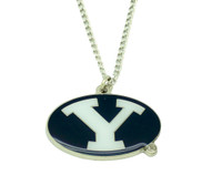Brigham Young Logo Necklace